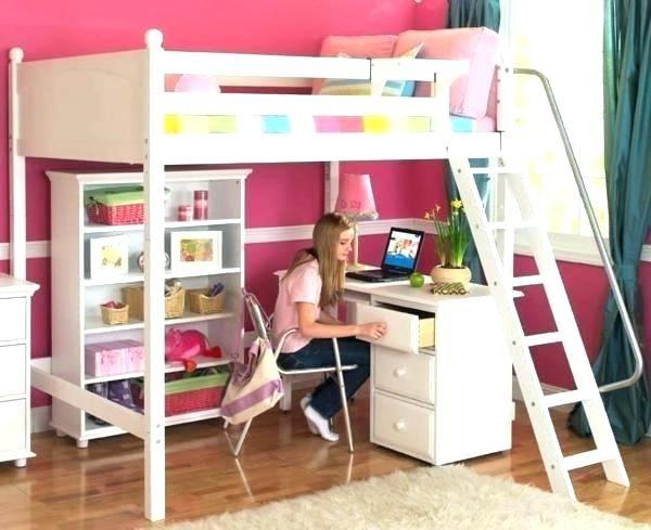 Lit Mezzanine Bureau Fille Lit Mezzanine Bureau Ado Lit Enfant Avec