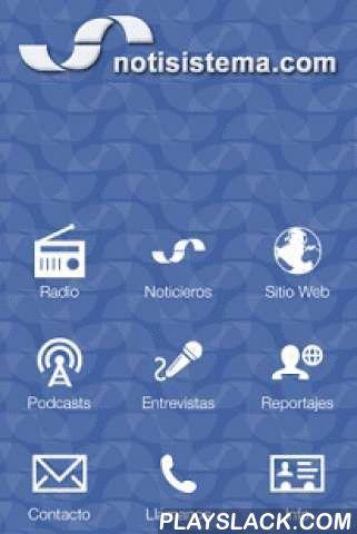 Notisistema  Android App - playslack.com , Notisistema, la mejor y más completa información cada hora en la hora. Mantente informado de lo que sucede en Guadalajara, Jalisco, México y el Mundo con actualización al minuto. Radio en vivo, podcasts, noticieros, entrevistas y mucho más... Infórmate y participa con nosotros.