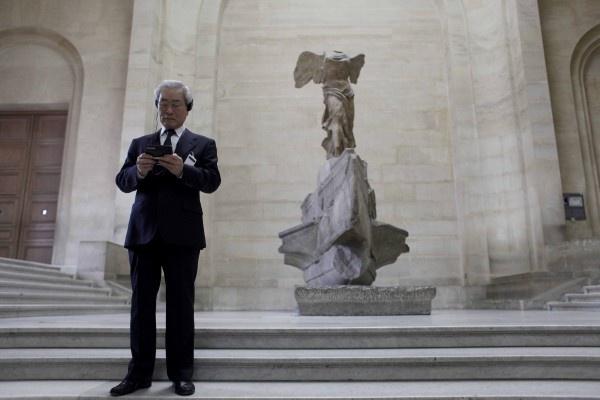 Shinji Hatano, N°2 de Nintendo au musée du Louvre