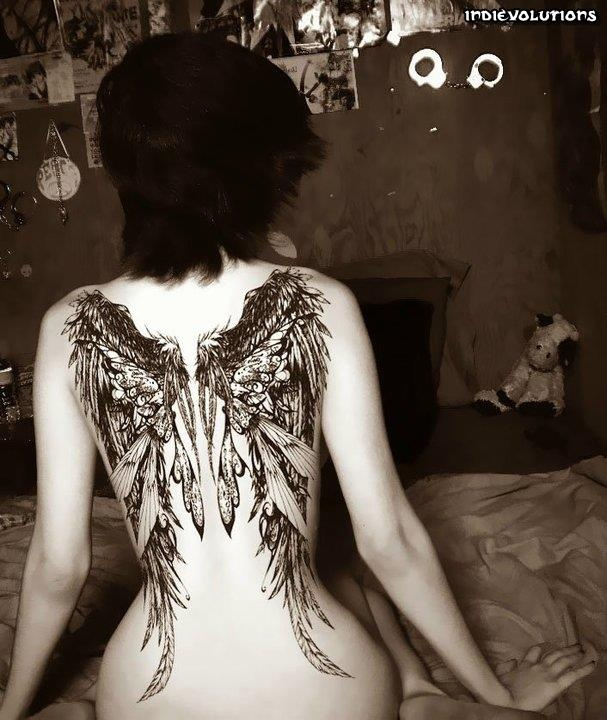 .: Tattoo Ideas, Tattoo Beautiful Wings, Tat Inspiration, Tattoo Inspiration, Body Art, Tattoo Girls, Nice Wings, Feathers Wings, Wings Tattoo