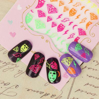 I find an excellent product on @BornPrettyStore, Nail Art Sticker Fluorescent Star Diamond Wav... at $1.59. http://www.bornprettystore.com/-p-13892.html