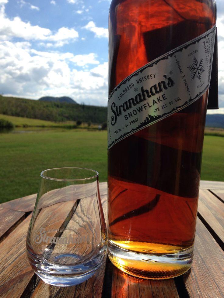 We just love this whiskey! #snowflake #stranahan #whiskey #bar
