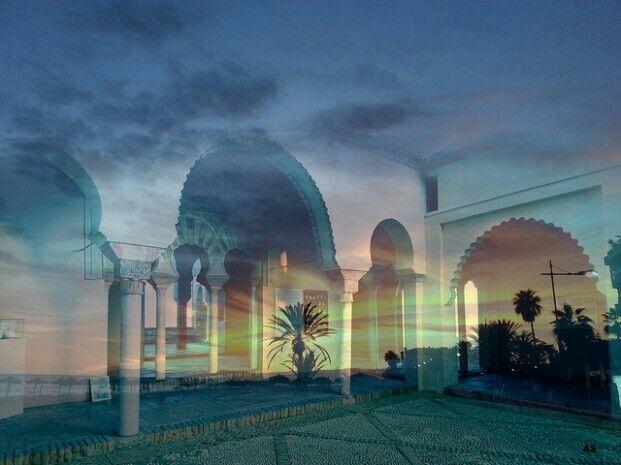 El oasis de la Alcazaba de Málaga