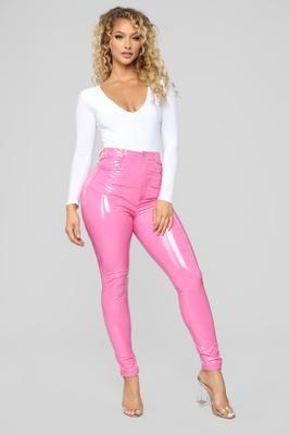 5e07aafe200be You Get Pretty Wild Latex Pants - Black en 2019   moda   Latex pants ...