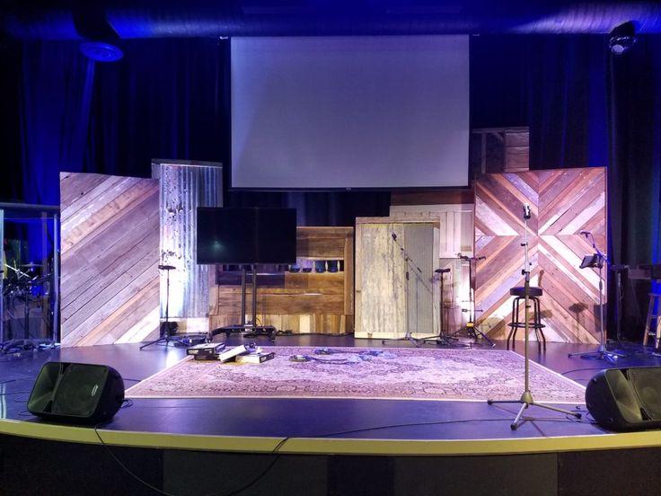 The 25+ best Church stage design ideas on Pinterest   Church ...