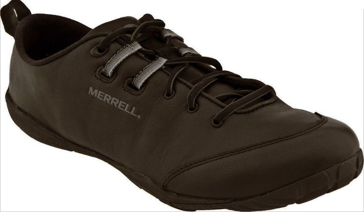 Merrell MensBarefoot Shoes Tough Glove Brown Athletic Shoes Leather Sneakers #Merrell #AthleticSneakers