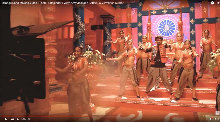 തെരിയിലെ റാങ്ക് റാങ്ക് എന്ന ഗാനത്തിന്റെ ചിത്രീകരണ വീഡിയോ  കാണാം