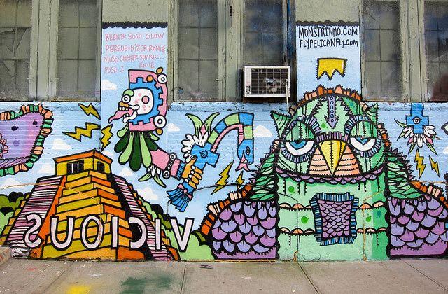 64 best 5pointz images on pinterest street art new york for Nas mural queens