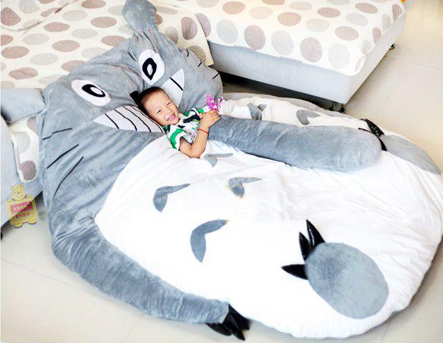 Big Huge Cute 2011 Models 220CM Totoro Bed Sleeping Bag Sofa Kid Lover Gift