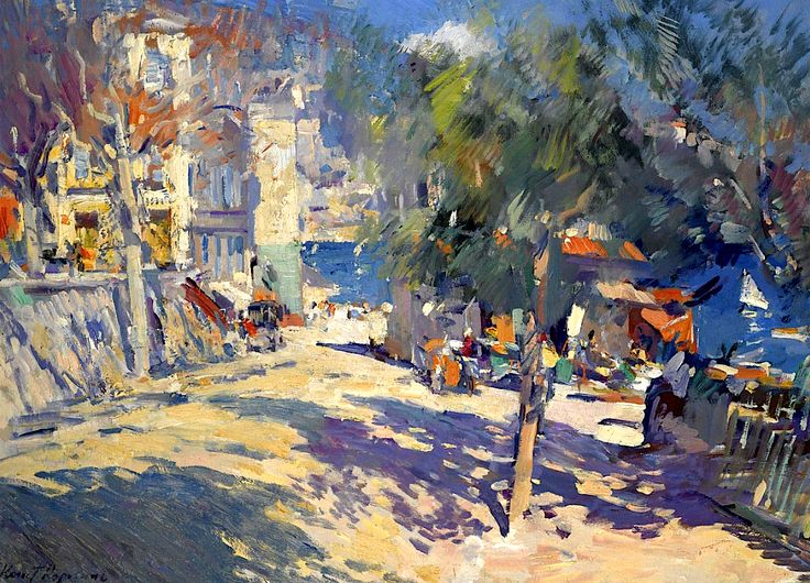 Konstantin Korovin View of the South of France