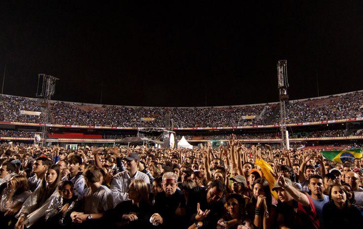 G1 - Veja fotos do show do U2 no Morumbi em SP - fotos em U2 no Brasil