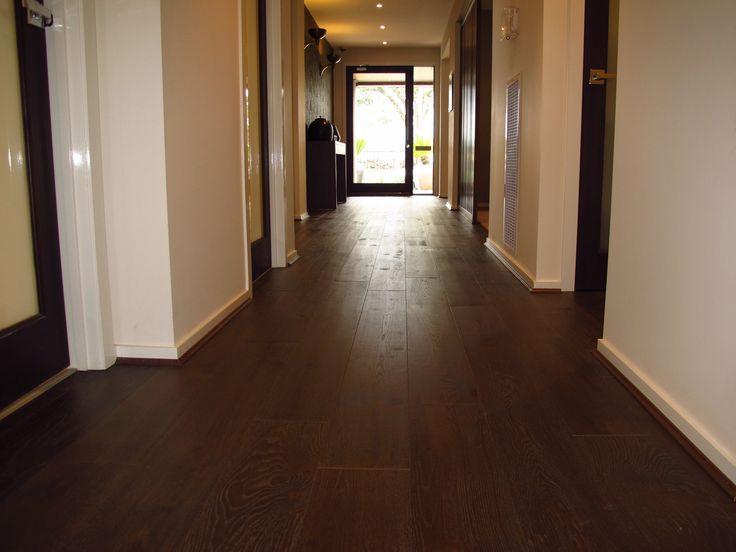 Universal timber - smoked oak from Solomons Flooring. AMAZING
