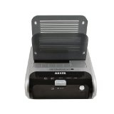 Anker USB 3.0 2.5/3.5-inch SATA Hard Drive docking station(two slots) - Black(support data clone between two disks) (Electronics)  #toshibac #electronic