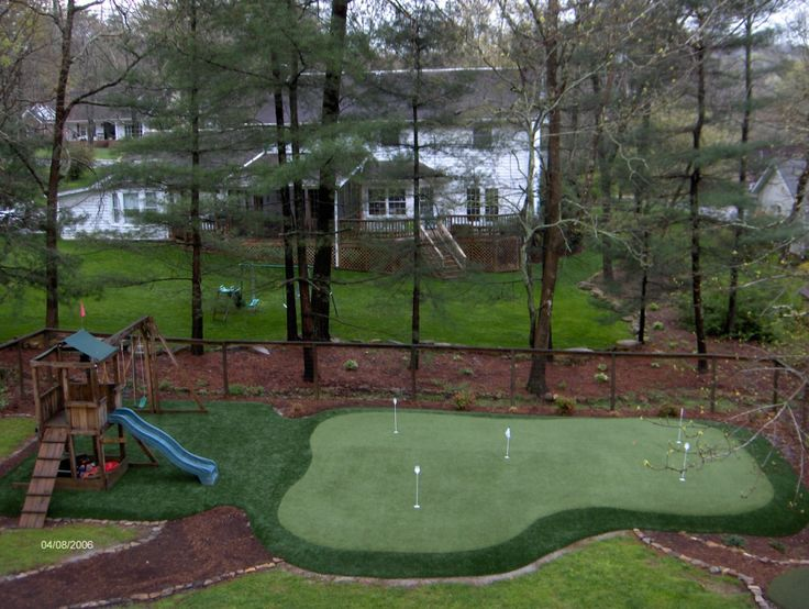 With Summer Roaching Now Is The Perfect Time To Have Your Own Backyard Golf Green Installed