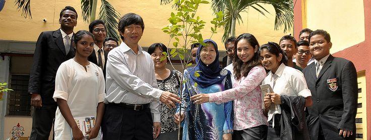MTC » MTC Organises Talk and Tree Donation for SMK Bandar Sunway