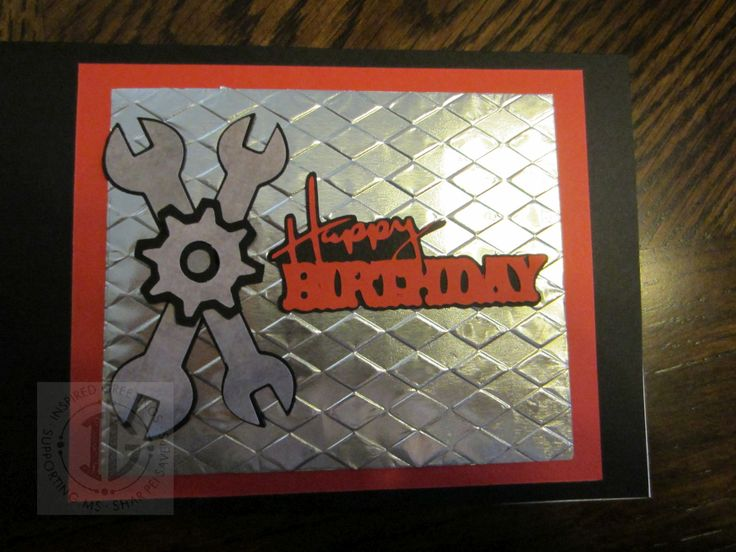 Mechanic Happy Birthday Mechanics Birthday Card