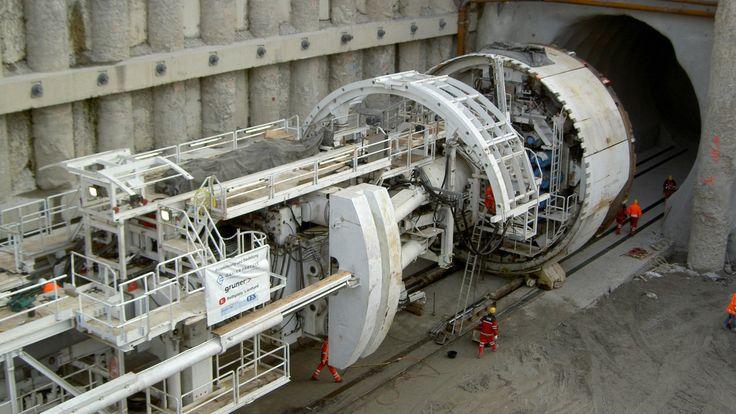 Wie funktioniert eine Tunnelbohrmaschine?