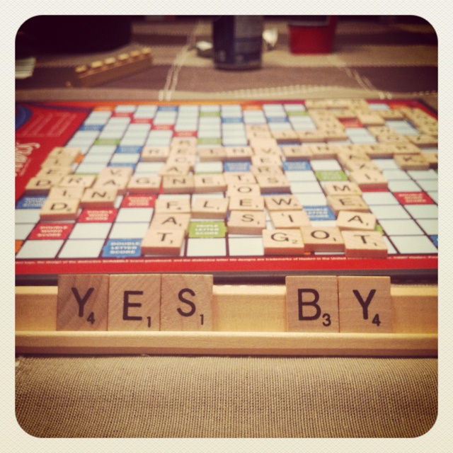 Newfie Scrabble ..... Love this saying
