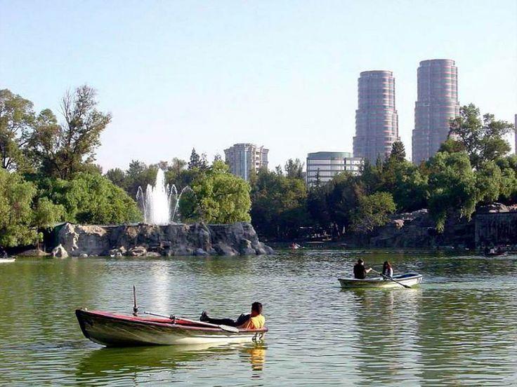 Lago de chapultepec. mex