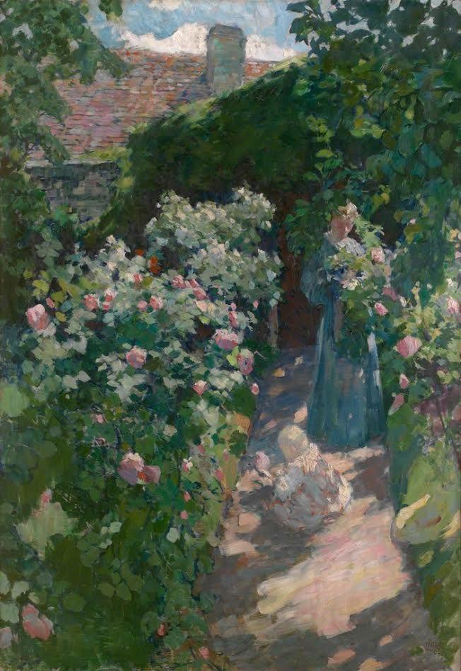 1946  Ludvík Kuba (1863- †1956 Prague) Czech landscape painter, musician, writer, professor Academy of Fine Arts. a Represen-  tative of the Late-Impressionism.