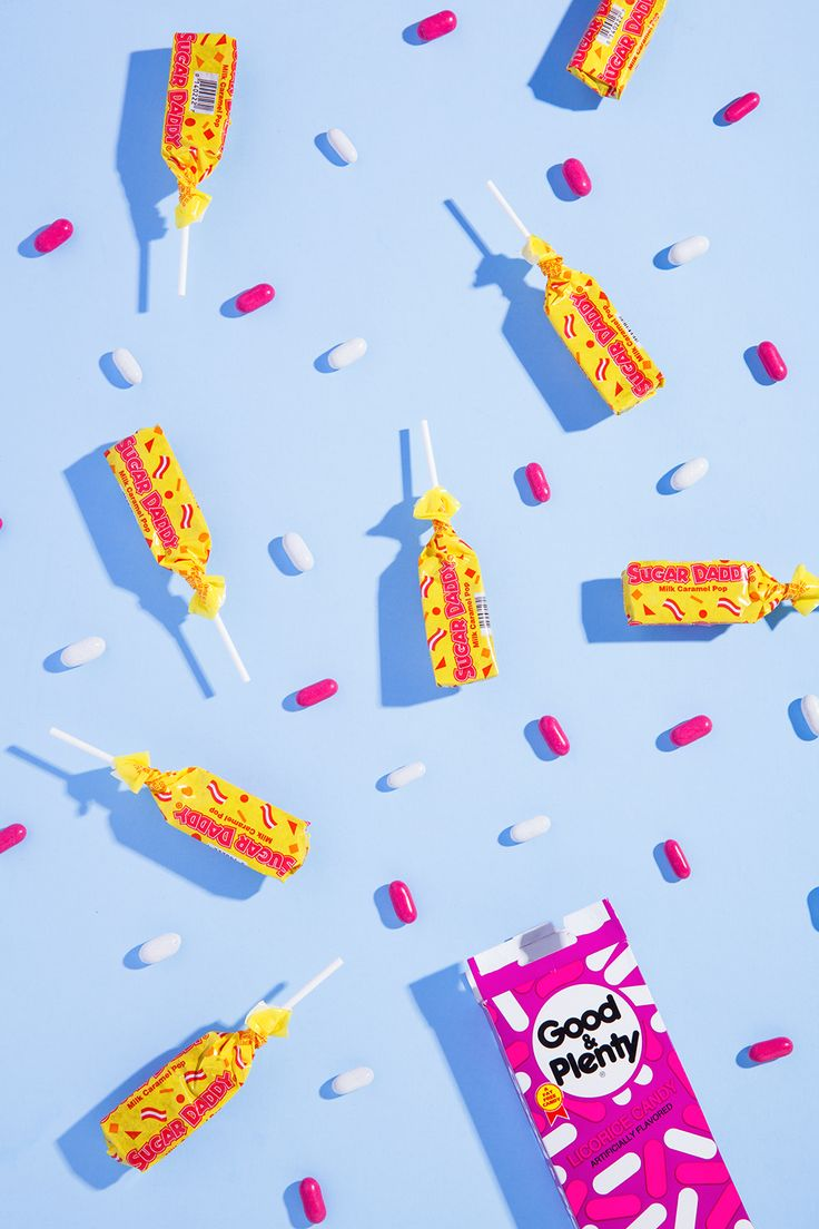 Stephanie Gonot / 80s Halloween Candy for NYLON #photography #still #life  Still shoot campaign. Flat shoot. merchandising.