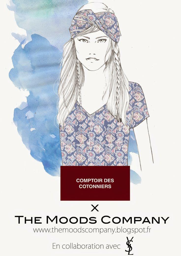 Comptoir des Cotonniers et The Moods Company la Collab