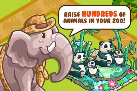 Build the Best Pet Zoo to EVER live on your mobile device.  Raise families of cute animals and watch them play with their unique babies! Adorable, playful baby animals are waiting to be raised by you. Mix and match animals to create new species for your zoo:  Lion + Tiger = Liger!  Elephant + Polar Bear = Mammoth!  Eagle + Capuchin Monkey = Flying Monkey! Everything is better in Zoo Story 2!  -----------------------------------------------  ★ 100+ of the most adorable AN...
