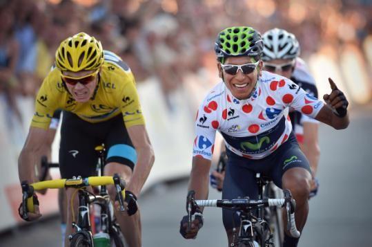 Chris Froome - Team Sky / Nairo Quintana - Movistar