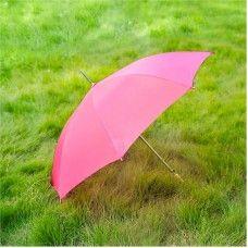Wholesale Umbrella, Solid Pink Umbrellas, 48 Inch Umbrella, UMHOTP48