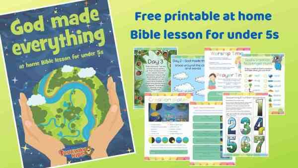 picture about God Made Me Free Printable referred to as God developed me - Genesis 2 - Trueway Small children Preschool bible