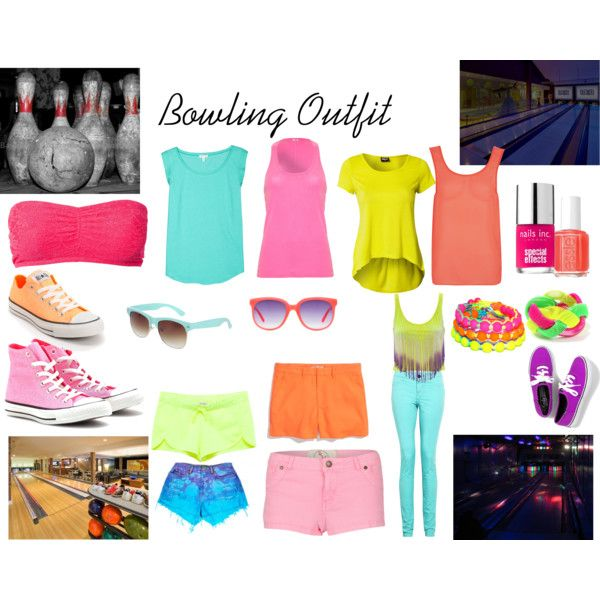 """Bowling Outfit"" by itateenagegirl on Polyvore"