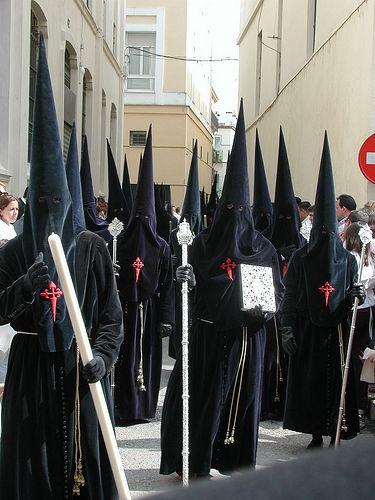 Semana Santa, Sevilla, Spain. Easter celebration. Procession. April 2009