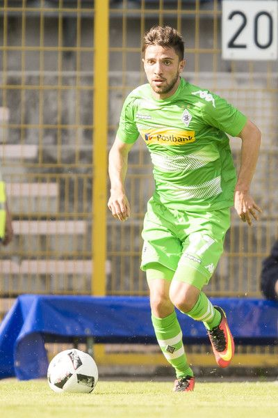 Julian Korb of Borussia Moenchengladbach  during the friendly match between SV Waldhof Mannheim and Borussia Moenchengladbach at Carl-Benz Stadium on July 9, 2016 in Mannheim, Germany.