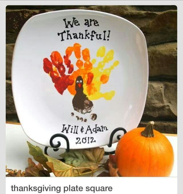 Thanksgiving idea...remember how small my babies hands are...
