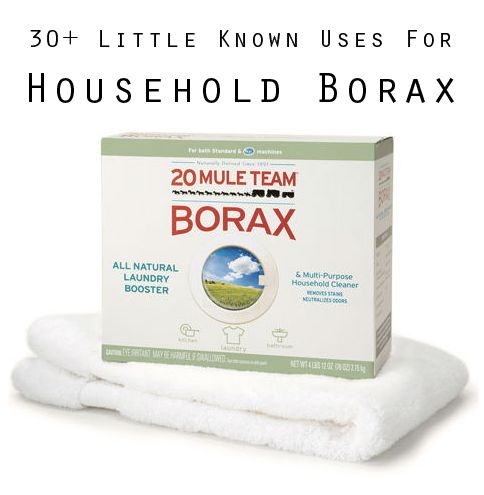 People have been using borax for over 100 years to clean their homes and for use in their laundry. It would be impossible to list all the ways you can use it, so here's 30 of my favorite!