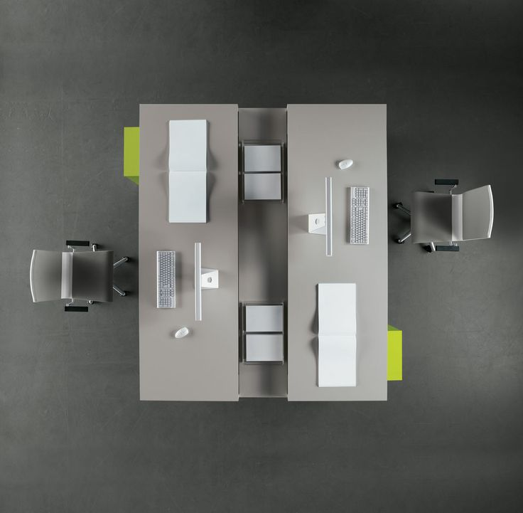 designer office desk isolated objects top view. tre desk top view order now from spaceist designer office isolated objects e