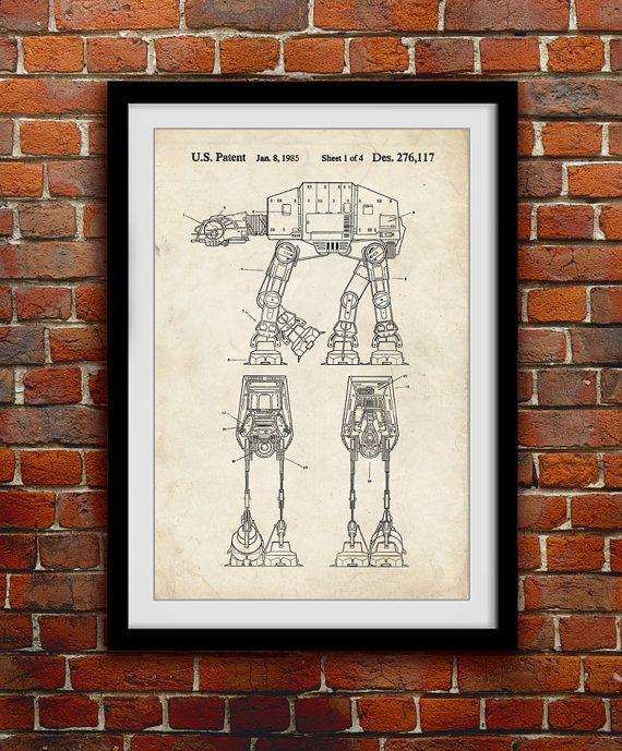 Star Wars AT-AT Walker Action Figure Toy par thepatentoffice