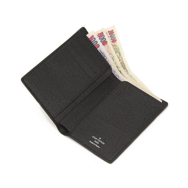 Louis Vuitton(ルイヴィトン) ダミエ・グラフィット ポルトフォイユ・ジェイムス N63117 札入れ レディース ブラック