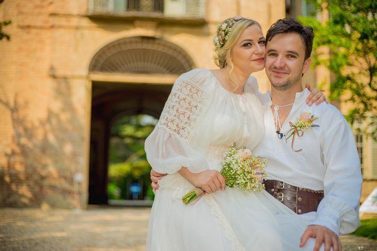 Luiza și Cosmin. Nuntă românească de basm în Torino, Italia.