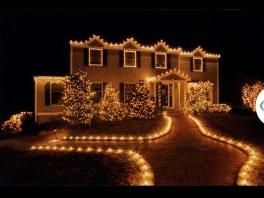 123 best christmas lights images on pinterest christmas ideas christmas time and christmas lights - Outdoor White Christmas Lights