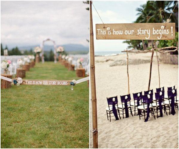 Oggi nel blog di Valeria idee ed ispirazioni low cost: cartelli in legno fai da te!