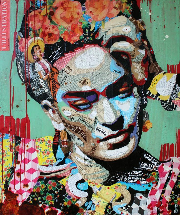 "Artist : Arnaud Bauville ""OJOS NEGROS"" 100 x 120 cm (39,4 inches x 47,2 inches ) http://arnaudbauville.blogspot.fr/"