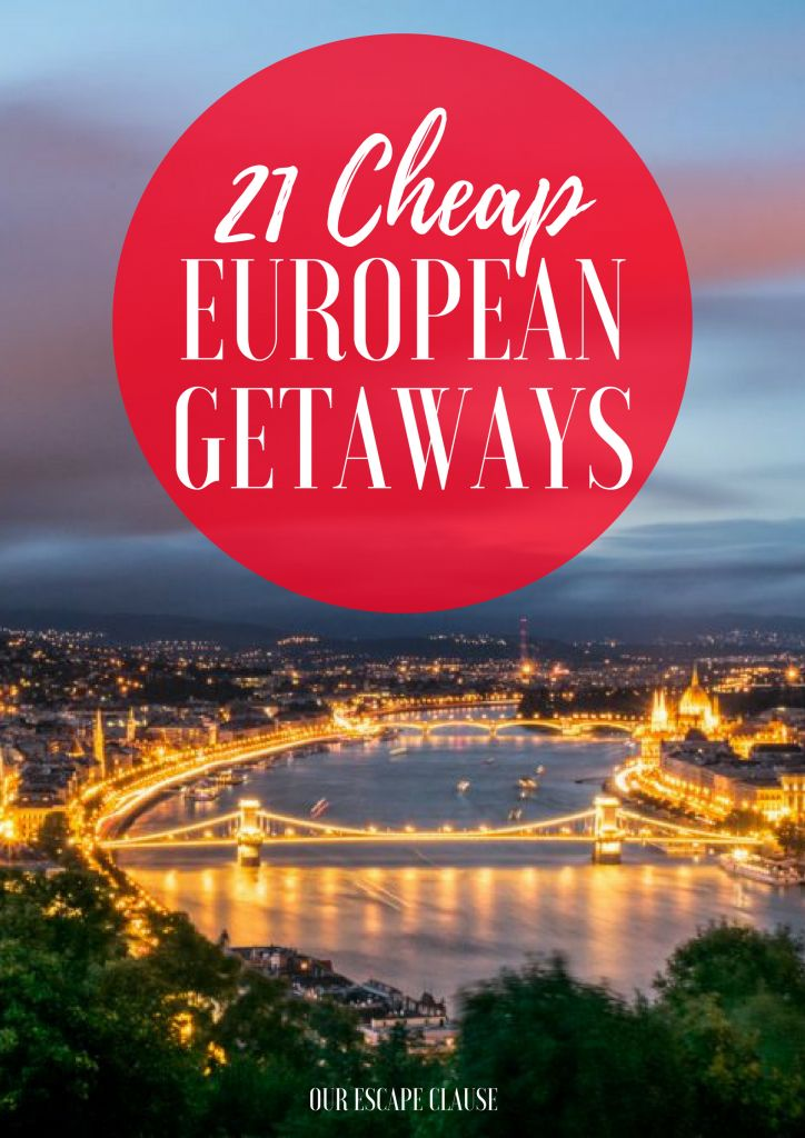 Check out these offbeat & affordable European travel destinations. Not everywhere on the continent will break the bank!