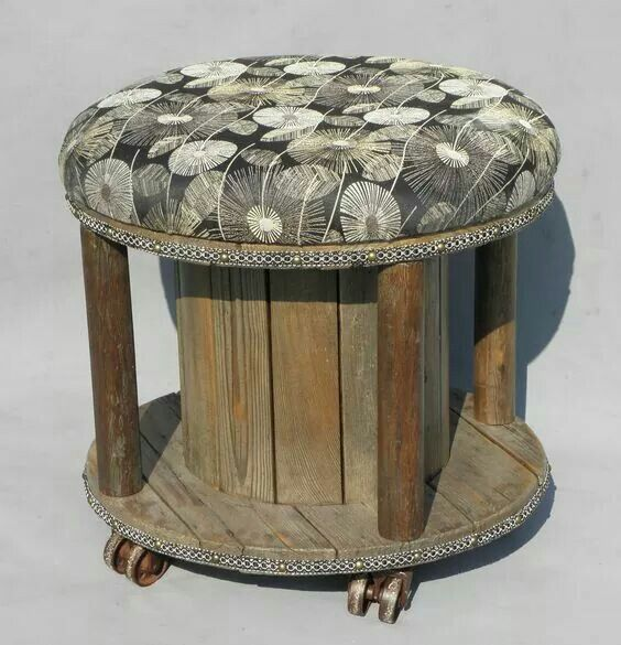 790 Best Large Wooden Spools Images On Pinterest Cable