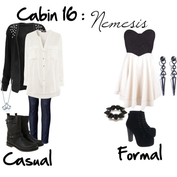 """Cabin 16: Nemesis"" by idmiliris on Polyvore"