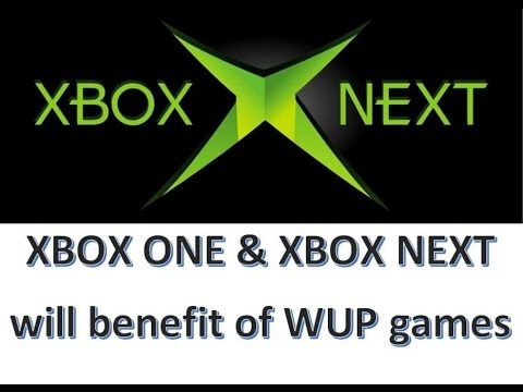 NEXT XBOX & XBOX ONE will be cheap to produce games for Thx to WUP