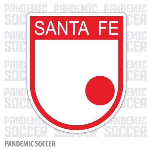 Independiente Santa Fe Colombia Vinyl Sticker Decal Calcomania