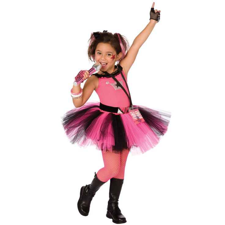 girls halloween costumes glam rocker girl costume - Little Girls Halloween Costume Ideas