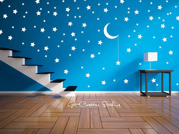 Star Bright Decal Wall Stickers Magical Decals Celebration Fairy Tale  Hanging Moon Dream Play Bedroom Van Part 92