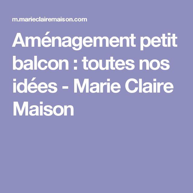 25+ best ideas about Aménagement petit balcon on Pinterest Petit - faire un meuble de cuisine soi meme